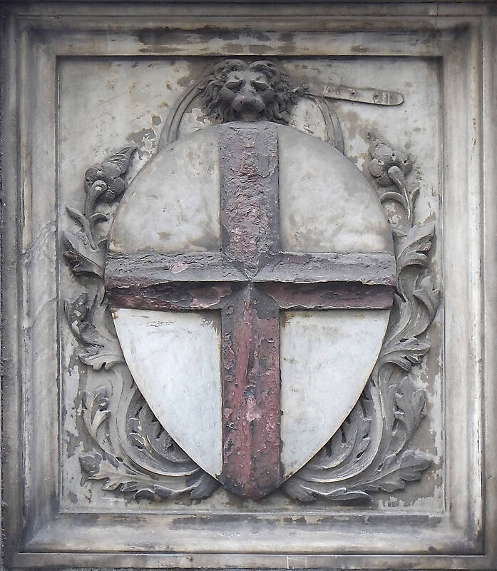 old stone emblem from florence 10