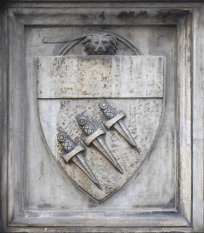 old stone emblem from florence 11