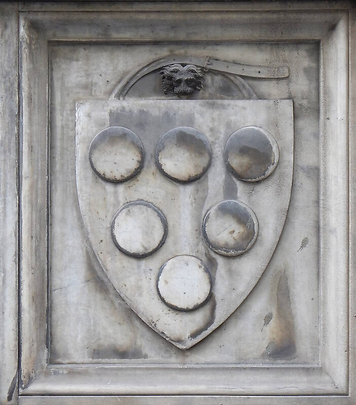 old stone emblem from florence 14