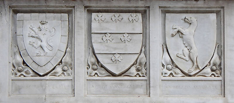 old stone emblem from florence 1