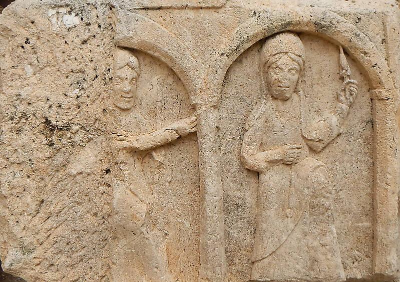 saint in the arches ornament 23
