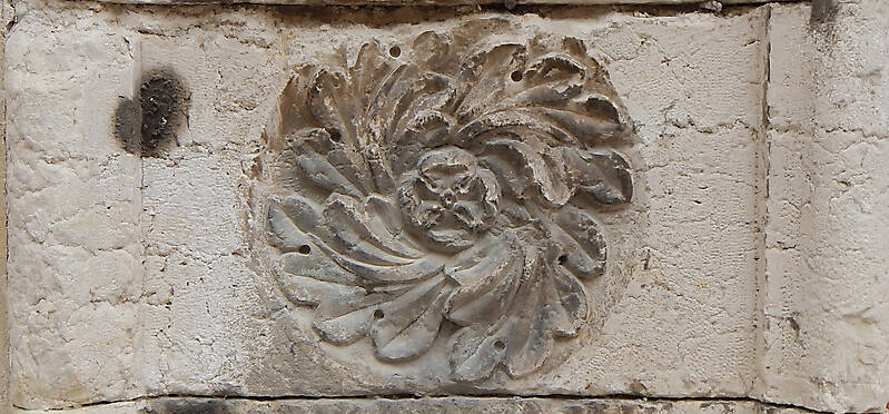 stone flower ornament 26