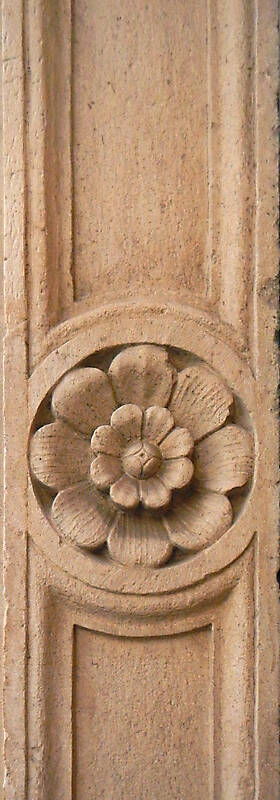 stone ornament flower 2