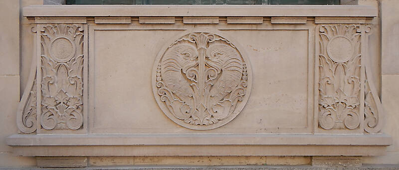 stone plate decoration window