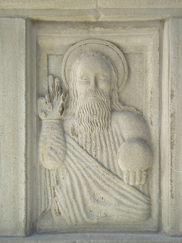 stone plate jesus