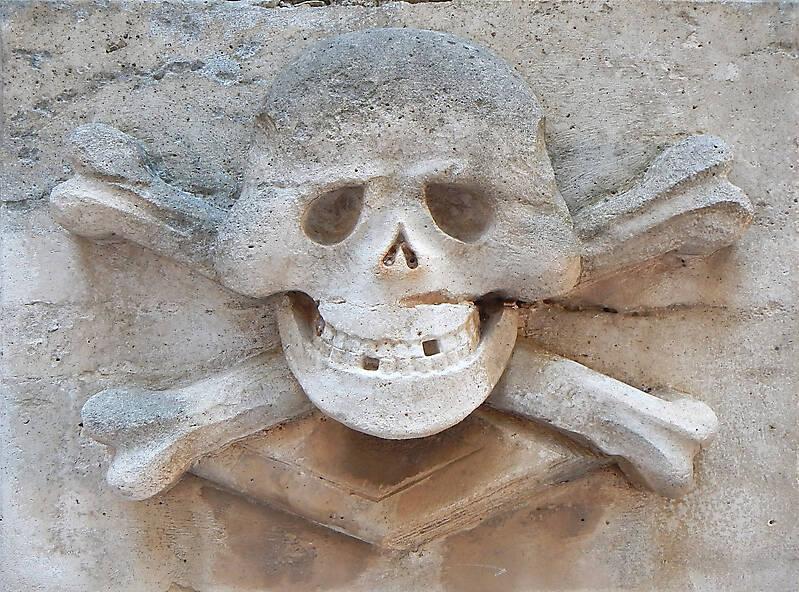 stone skull emblem 63