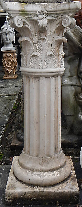 greek stone corinthian pillar 1