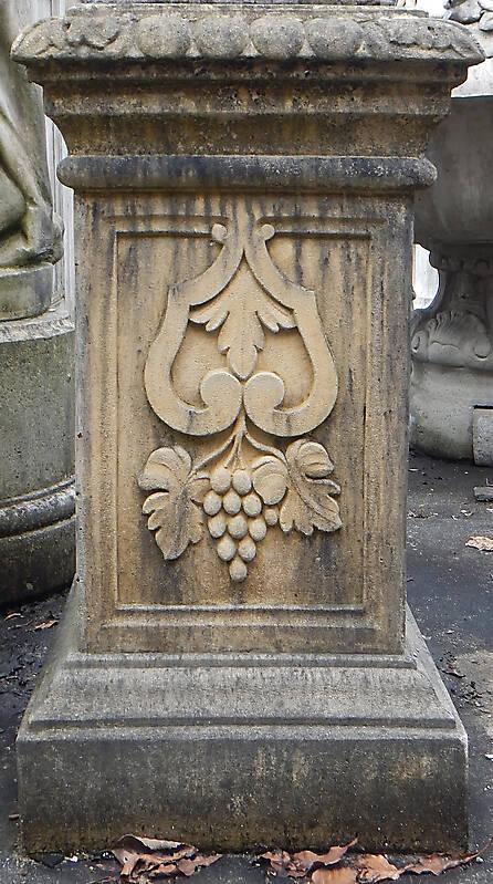 italian stone square pillar 1