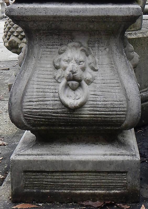 italian stone square pillar 2