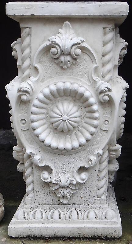 Textured Stone Pillar : Texture italian stone square pillar pillars