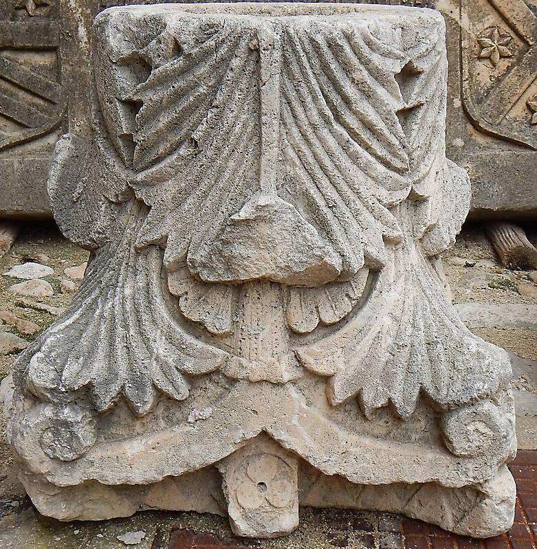 Textured Stone Pillar : Texture pillar capital stone pillars lugher