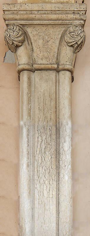 Textured Stone Pillar : Texture romanian stone column pillars lugher