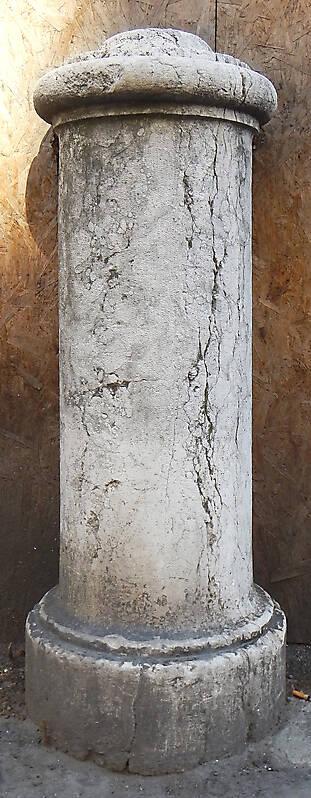 Textured Stone Pillar : Texture short stone column pillars lugher