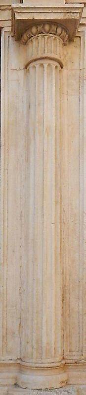 Textured Stone Pillar : Texture white stone complete pillar pillars