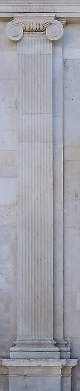 white stone pillar 8