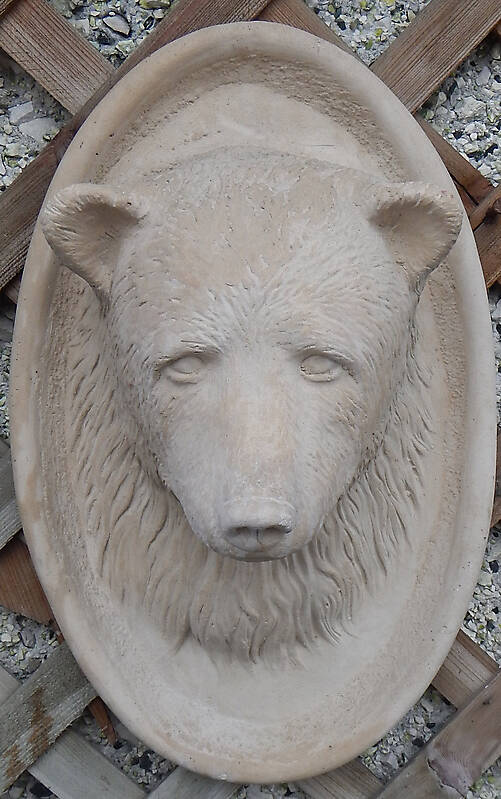 bear head ornament