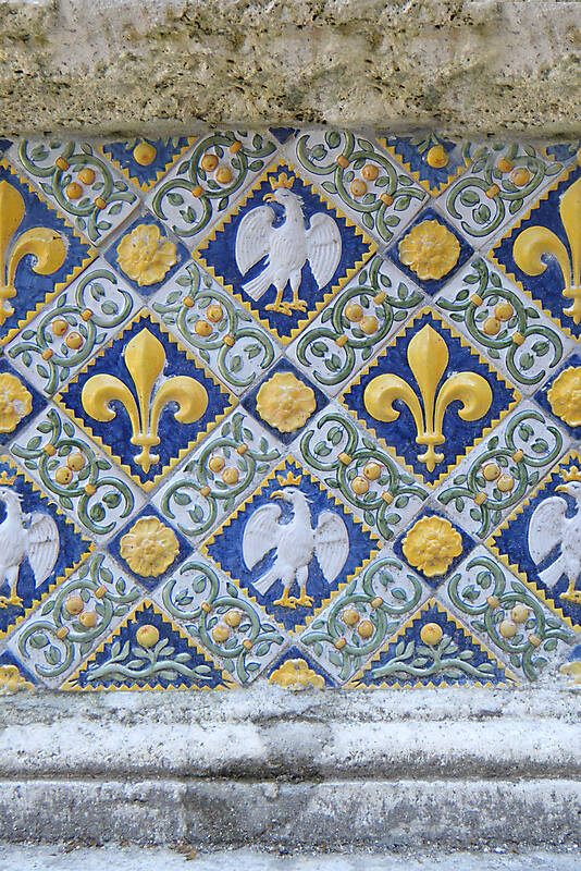 eagle and emblems tiles