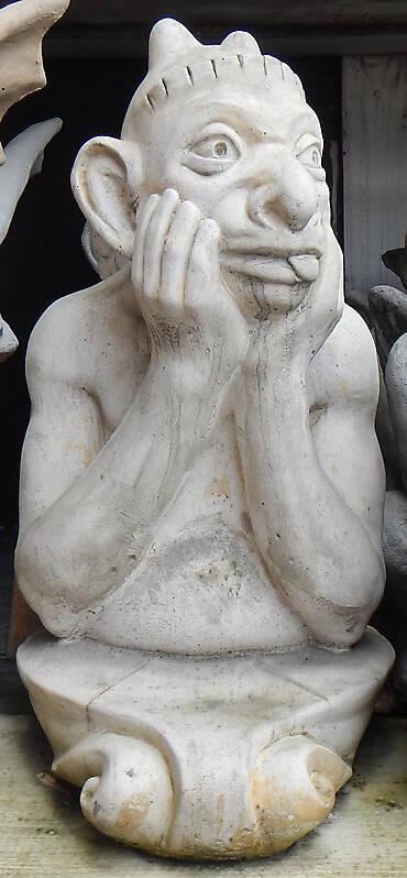 Gargoyle Baby Demon Statue Gothic 1