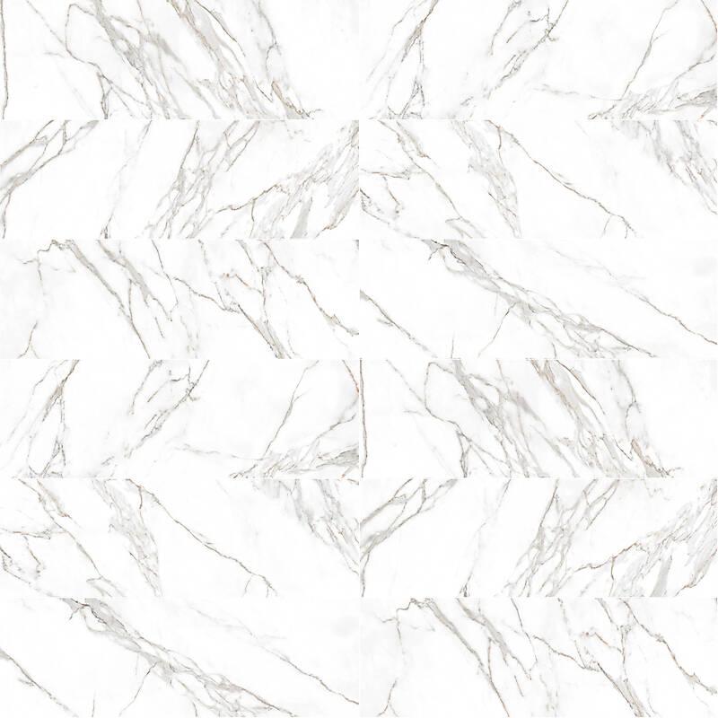 White marble tiles 12x36