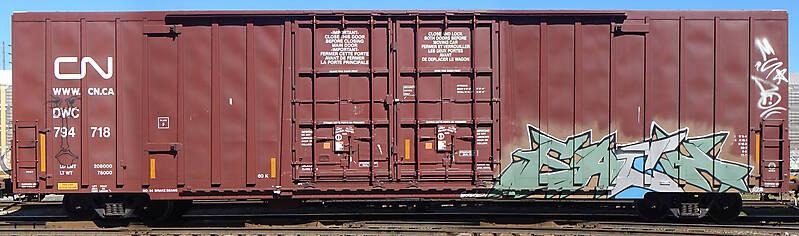 train wagon rusty 16