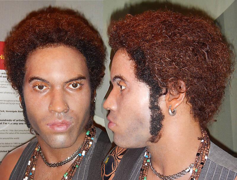 Lenny Kravitz face texture