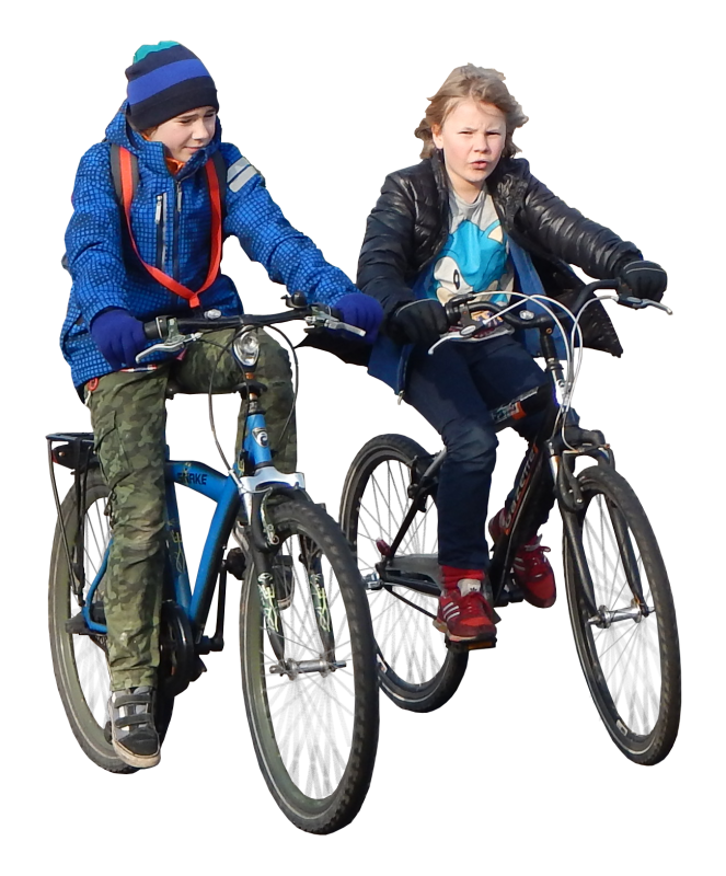 kids on bike alpha