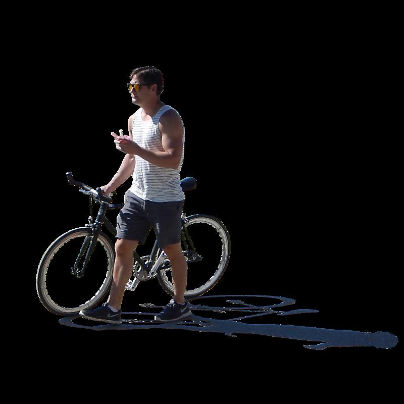 urban people man on bike