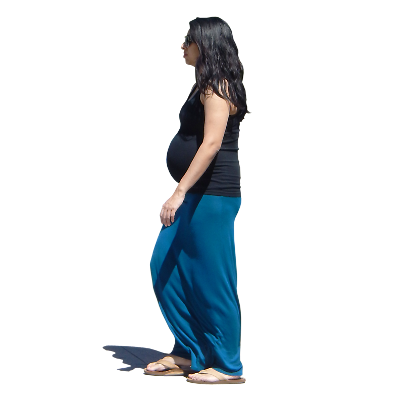 urban people pregnant woman