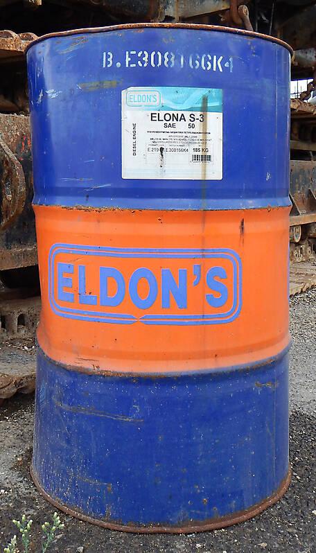 old petrol barrel