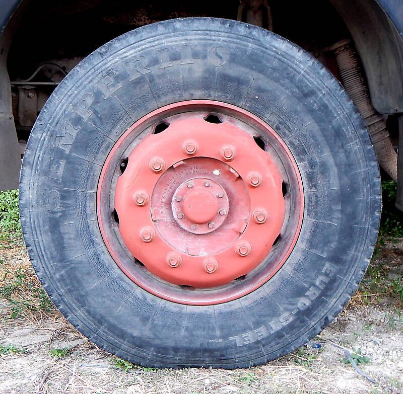 big truck wheel