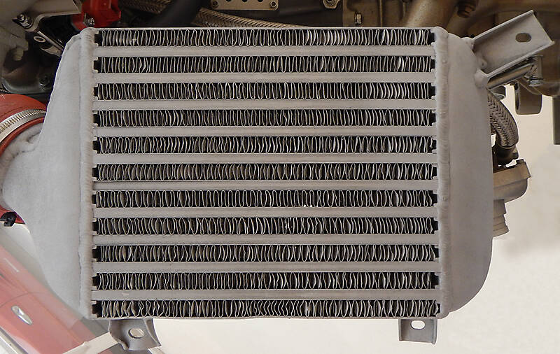 car intercooler radiator