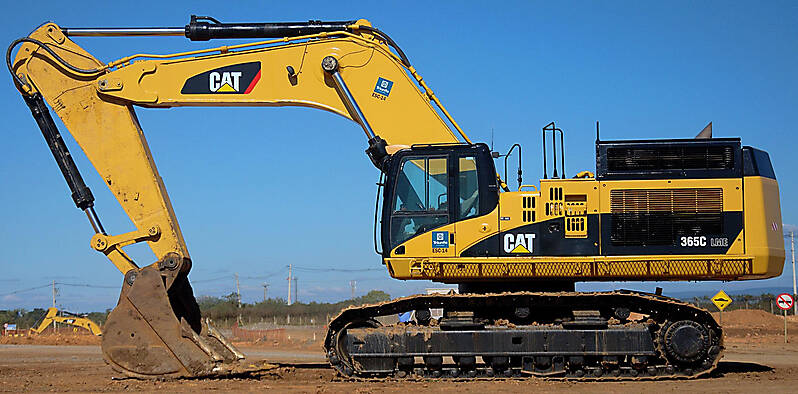 Cat Excavator Logo Caterpillar excavator new