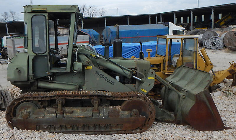 military escavator bulldozer 1