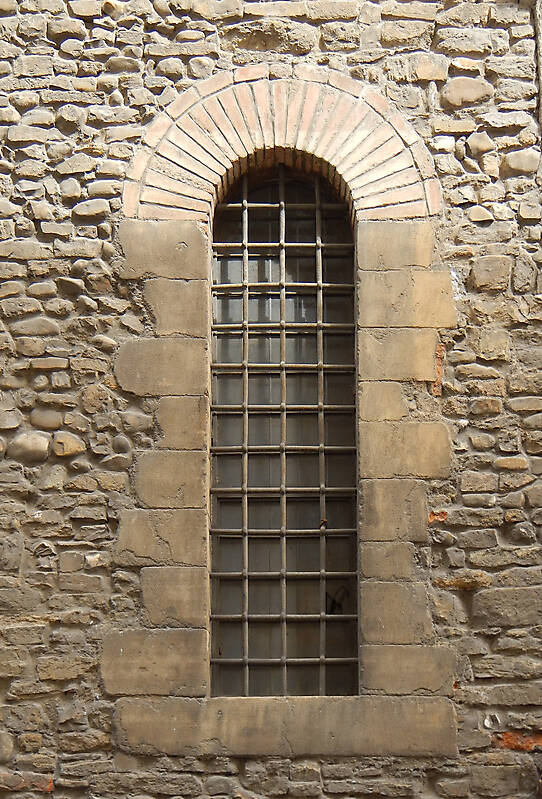 medieval cage window