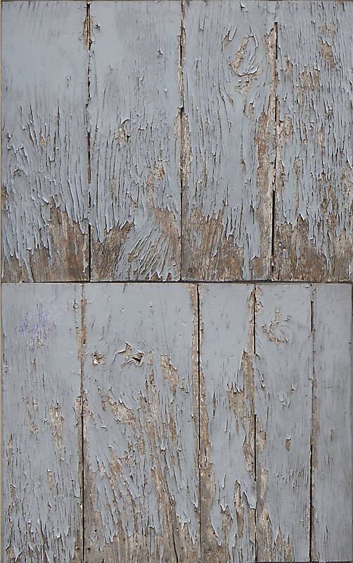 gray scratched paint wood planks