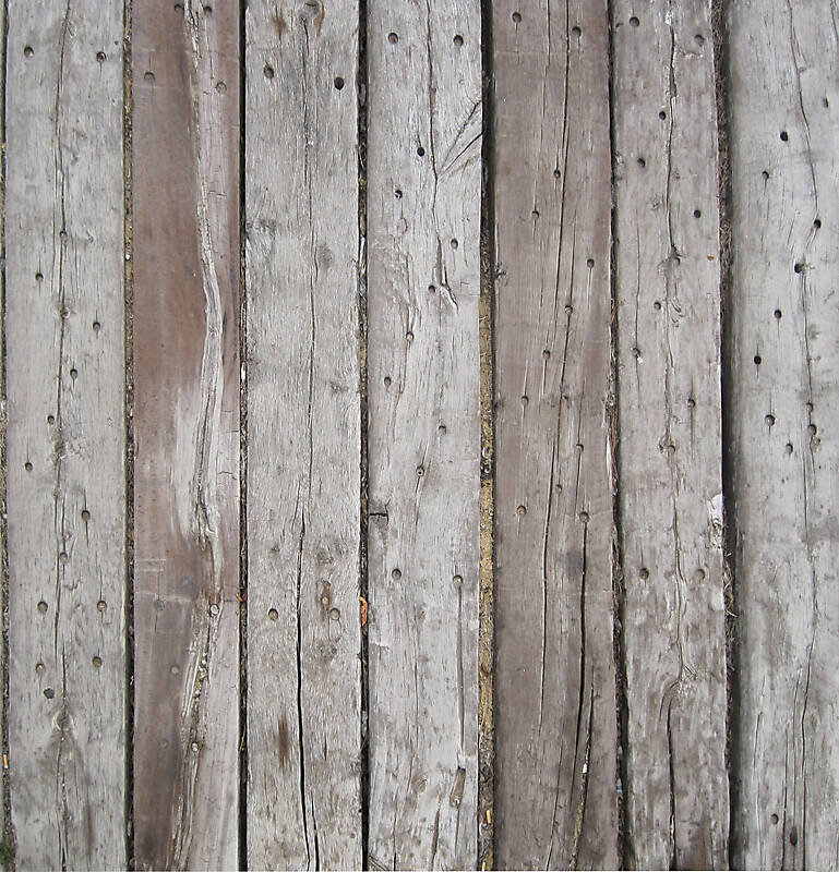 Texture wood planks grey corrugated old fence