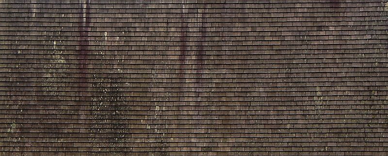 old shingles roof covering 1