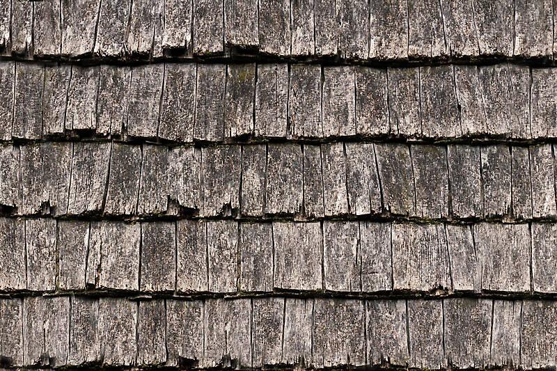 roof shingles ruined