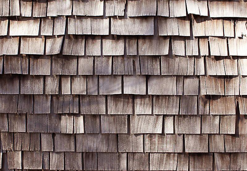 wood shingles thin