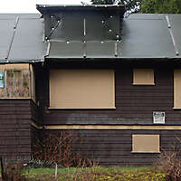 abbandoned old wood house 2