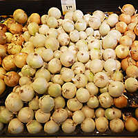 food market stall onion