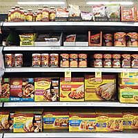 market shelves mexican food