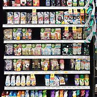 market shelves perfumes