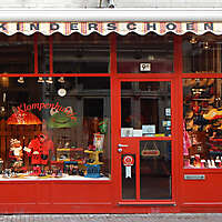 old style shop red europe 3