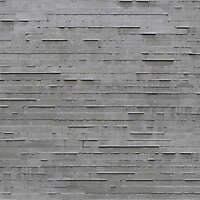 concrete with displacements planks