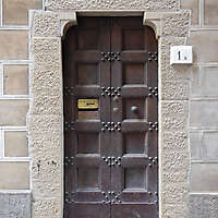 medieval old wood door 6
