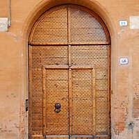 old clean decorated wood door 5