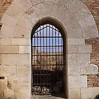old stone door architecture 1
