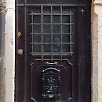 ornate wood door from venice 6