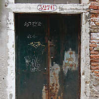rusted metal door from venice 6